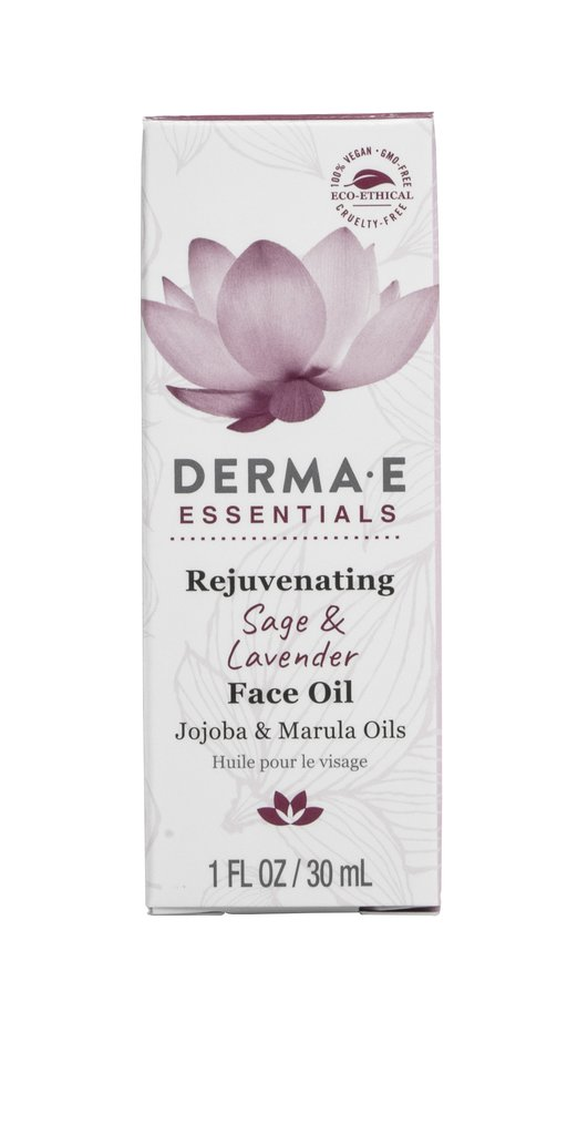 Image of Essentials Rejuvenating Sage and Lavender Face Oil