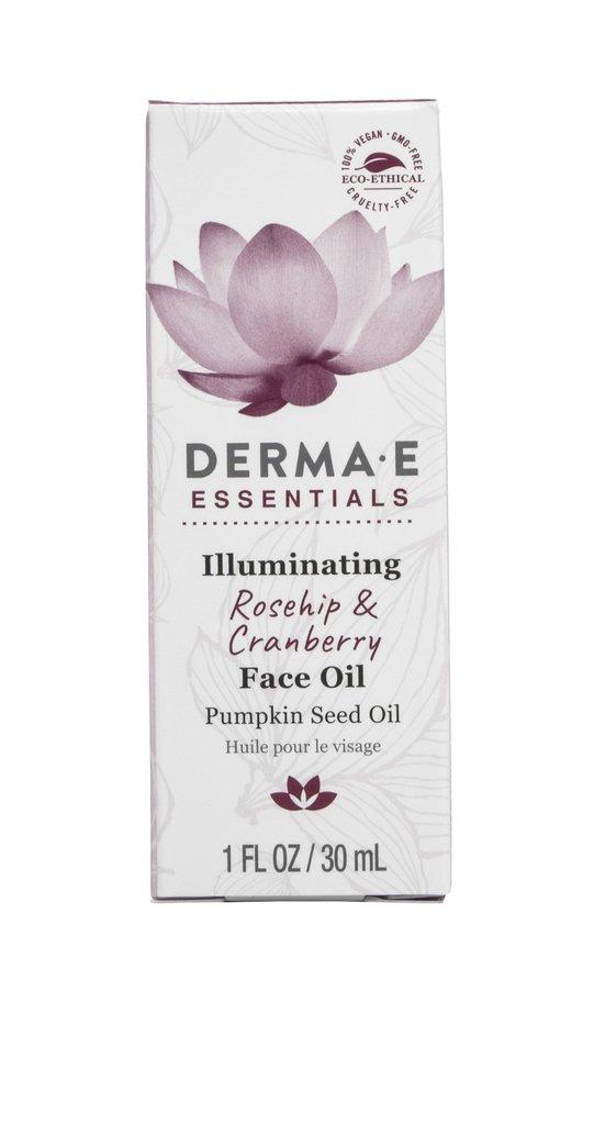 Image of Essentials Illuminating Rosehip and Cranberry Face Oil