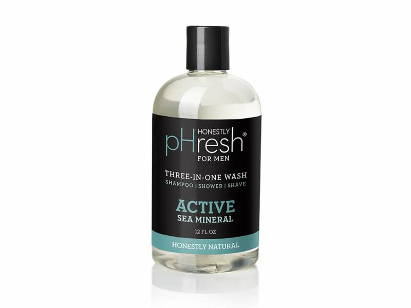 Image of Body Wash Three-In-One Active Sea Mineral