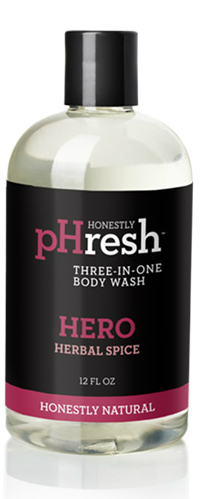 Image of Body Wash Three-In-One Hero Herbal Spice