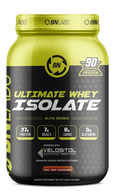 Image of Ultimate Whey Isolate, Salted Caramel