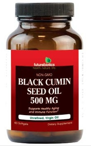 Image of Black Cumin Seed Oil, 500mg