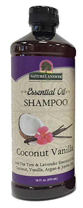 Image of Essential Oil Shampoo, Coconut Vanilla