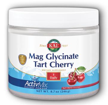 Image of Magnesium Glycinate Tart Cherry ActivMix Tart Cherry Flavor
