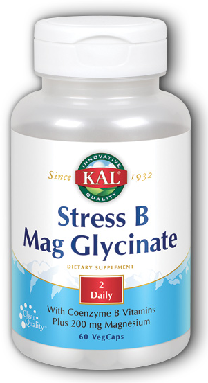Image of Stress B Mag Glycinate (2 Daily)