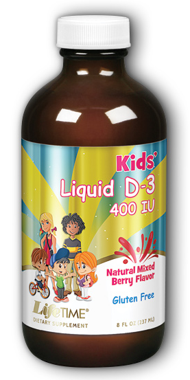 Image of Kids Liquid D3 400 IU Mixed Berry
