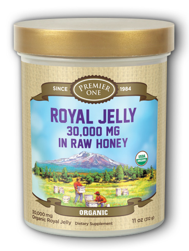 Image of Royal Jelly in Raw Honey Organic 30,000 mg