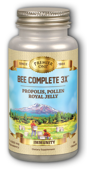 Image of Bee Complete 3X (Propolis, Pollen & Royal Jelly)