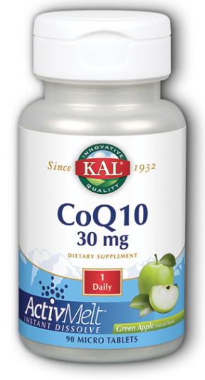 Image of CoQ10 30 mg ActivMelt Green Apple
