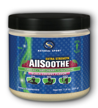 Image of AllSoothe Powder (Turmeric, Tart Cherry & Glutamine) Black Cherry