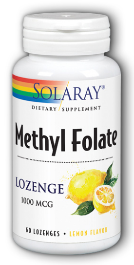 Image of Melthy Folate 1,000 mcg Lozenge Lemon