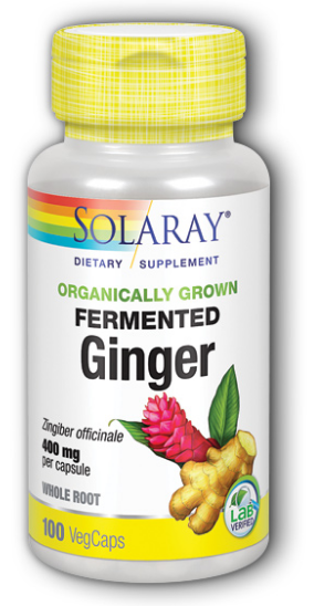Image of Ginger 400 mg Fermented Organic