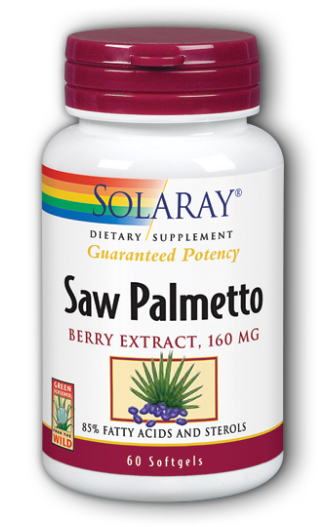 Saw palmetto extract or berries