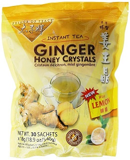 Image of Ginger Honey Crystals with Lemon (Instant Tea)