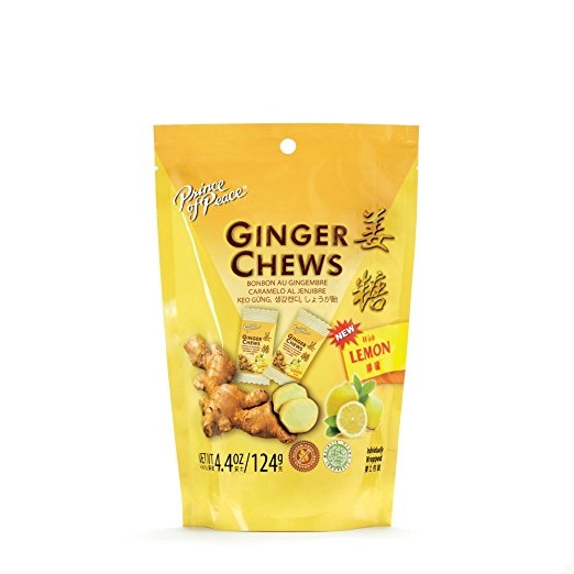 Image of Ginger Chews with Lemon