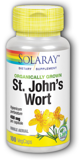 Image of St. John's Wort 450 mg Organic