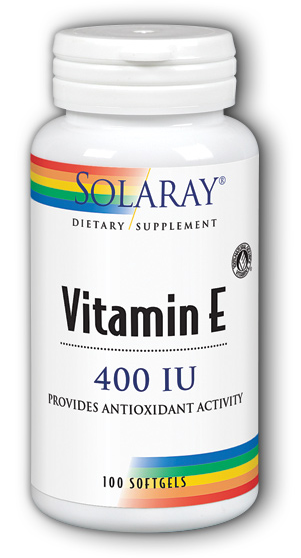 Image of Vitamin E 400 IU d-Alpha Tocopherol