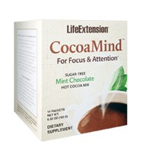 Image of CocoaMind for Focus & Attention Hot Cocoa Mix Sugar-Free Mint Chocoate