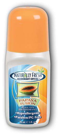 Image of Naturally Fresh Deodorant Crystal Roll-On Papaya Fusion