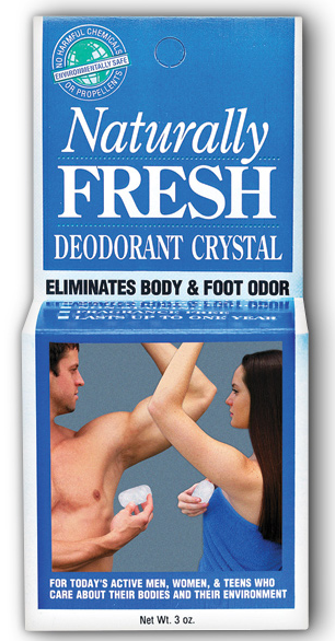 Image of Naturally Fresh Deodorant Crystal Stone in Dish