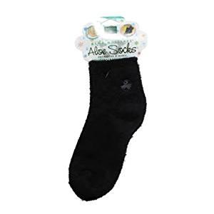 Image of Moisturizing Aloe Vera and Vitamin E Infused Socks- Black