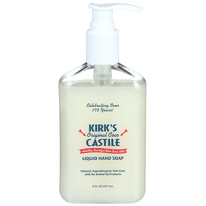 Image of Kirk's Liquid Hand Soap with Pump