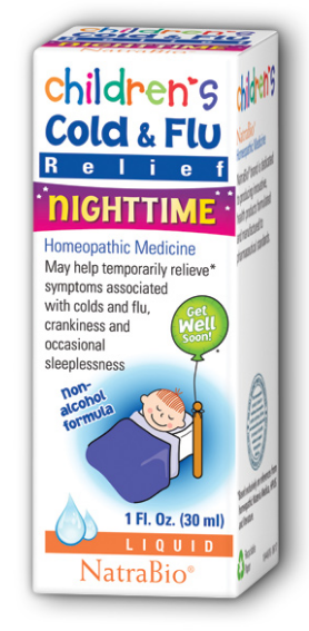 Image of Children's Cold & Flu Relief Nighttime Liquid
