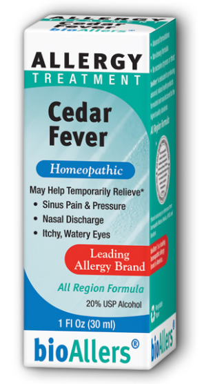 Image of bioAllers Allergy Treatment Ceder Fever Liquid