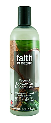 Image of Coconut Shower Gel & Foam Bath
