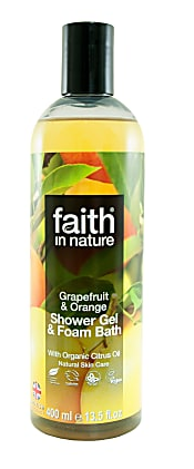 Image of Grapefruit & Orange Shower Gel & Foam Bath