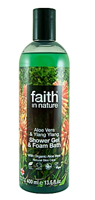 Image of Aloe Vera & Ylang Ylang Shower Gel & Foam Bath