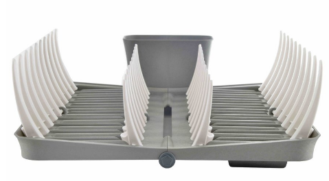 Image of Smart Rack Folding Dish Rack
