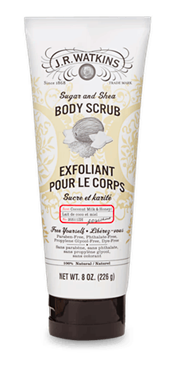 Image of Body Scrub Coconut Milk & Honey