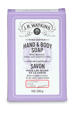 Image of Hand & Body Soap Bar Castile Lavender