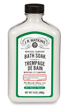 Image of Bath Soak Camphor Menthol