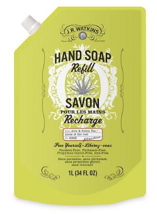 Image of Hand Soap Refill Liquid Aloe & Green Tea