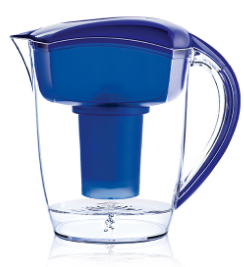 Image of Alkaline Water Pitcher Blue