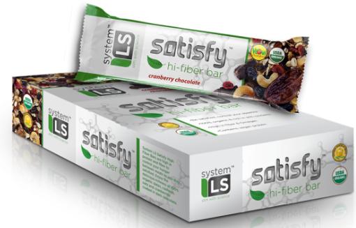 Image of Satisfy Hi-Fiber Bar Cranberry Chocolate