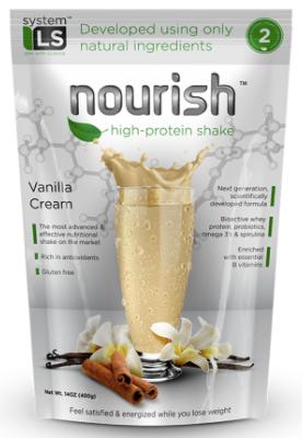 Image of Nourish High Protein Shake Vanilla