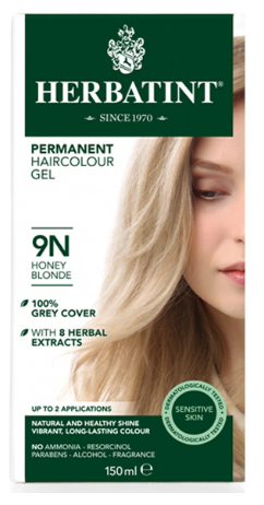 Image of Herbatint Haircolor Gel Honey Blonde 9N