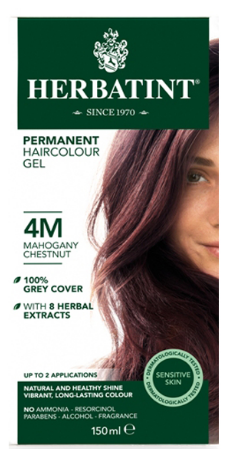 Herbatint Haircolor Gel Mahogany Chestnut 4M