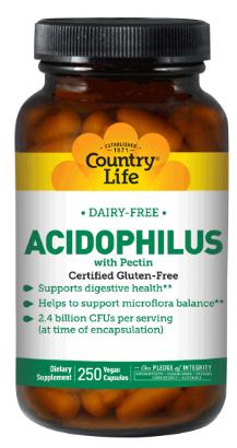 Image of Acidophilus with Pectin 1.2 Billion (Dairy Free)