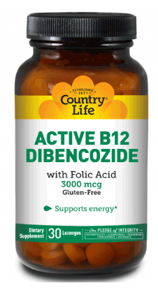 Image of Active B12 Dibencozide 3000 mcg Sublingual