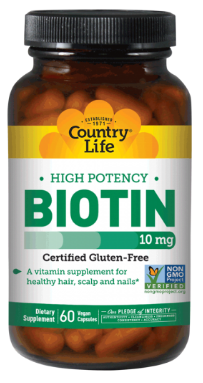 Image of Biotin 10 mg High Potency