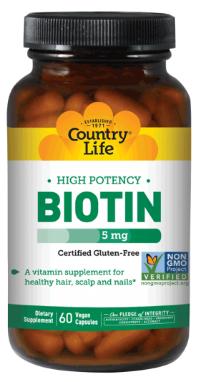 Image of Biotin 5 mg