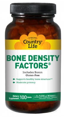 Image of Bone Density Factors with Boron