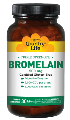 Image of Triple Strength Bromelain 500 mg