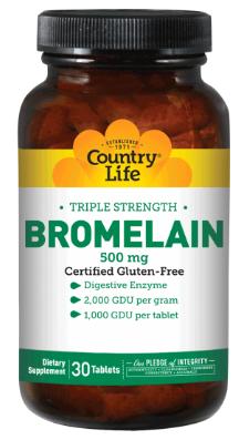 Image of Triple Strength Bromelain 500 mg