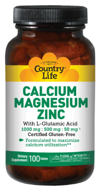 Image of Calcium Magnesium Zinc with L-Glutamic Acid 333/167/17/33 mg
