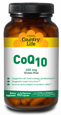 Image of CoQ10 100 mg Vegetarian Capsule